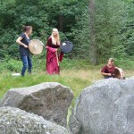 Hunebed ceremonie